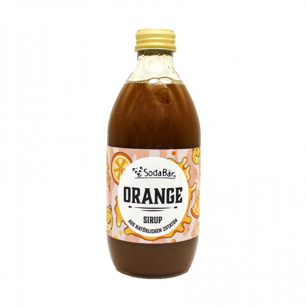 Natural Orange-Sirup